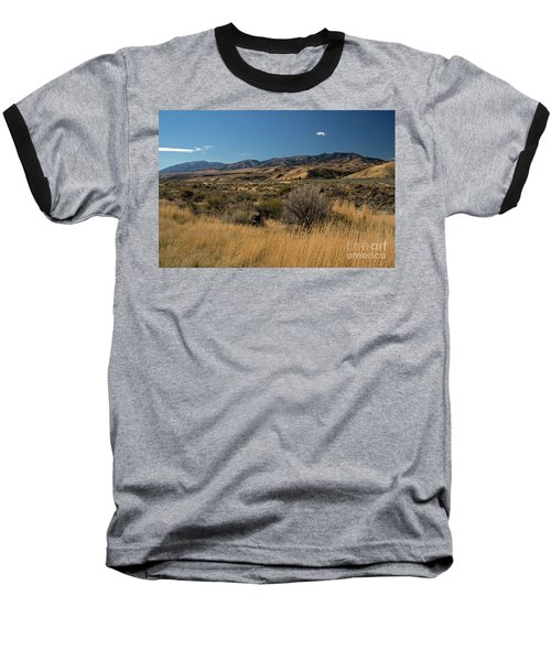 Pocatello Area Of South Idaho Baseball T-Shirt by Cindy Murphy - NightVisions