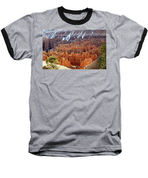 Pocket Full Of Hoodoos, Evening Baseball T-Shirt by Amelia Racca