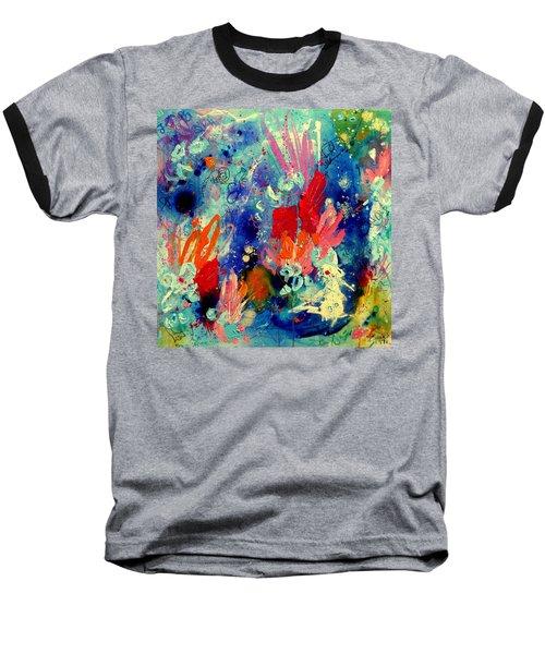 Pocket Full Of Horses 2 Baseball T-Shirt by Tracy Bonin