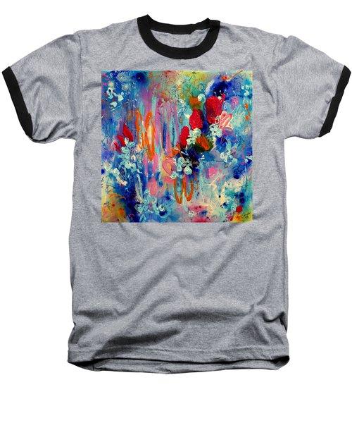 Pocket Full Of Horses 3 Baseball T-Shirt by Tracy Bonin