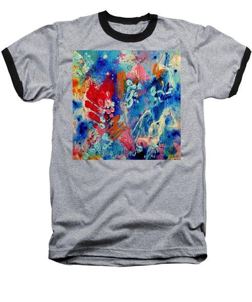 Pocket Full Of Horses 4 Baseball T-Shirt by Tracy Bonin