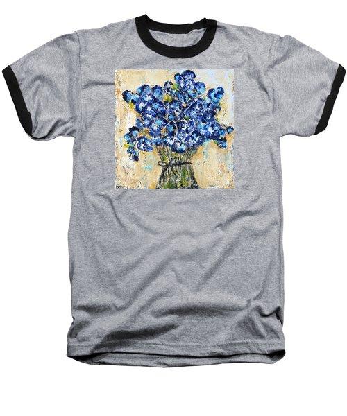 Pocket Full Of Posies Baseball T-Shirt by Kirsten Reed