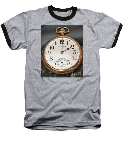 Pocket Watch Baseball T-Shirt