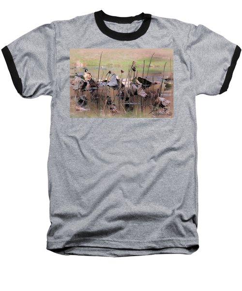 Pods At Sunset Baseball T-Shirt