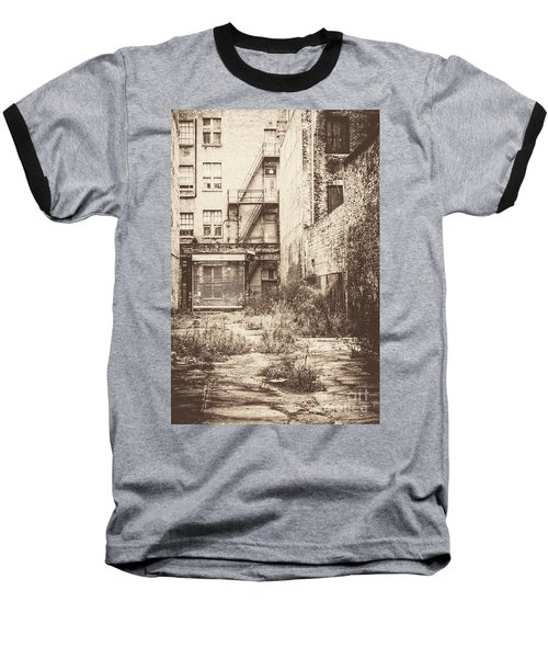 Poetic Deterioration Baseball T-Shirt