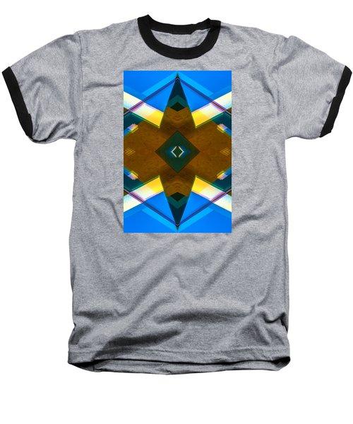 Poetry Foundation Library N86 V2 Baseball T-Shirt by Raymond Kunst