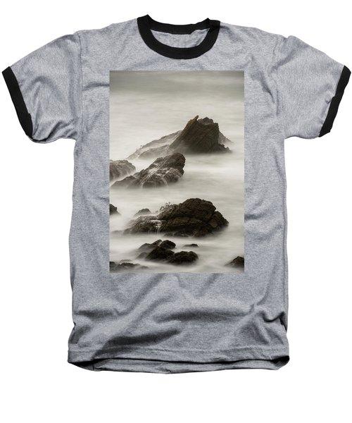 Point Arena  Baseball T-Shirt by Dustin LeFevre