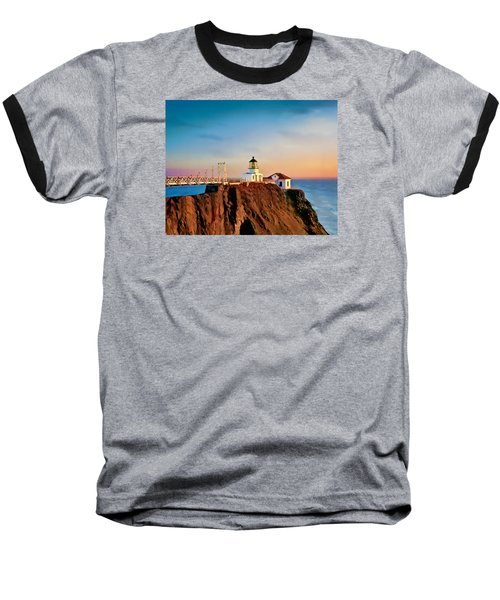 Point Bonita Lighthouse Baseball T-Shirt