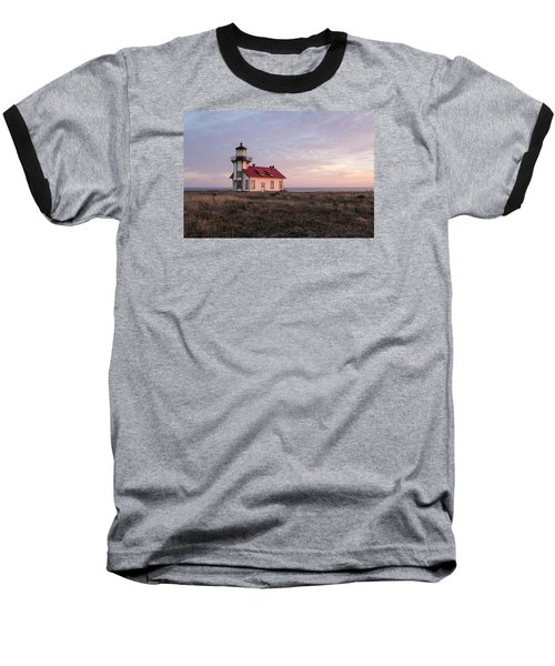 Point Cabrillo Light House Baseball T-Shirt by Catherine Lau