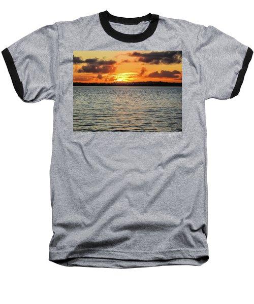 Point Chevalier Beach, Auckland, New Zealand Baseball T-Shirt