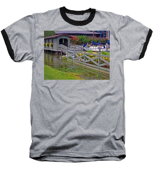 Point Clear Bridge At Grand Hotel Baseball T-Shirt