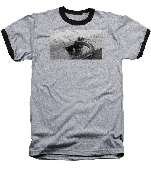 Point Defiance Driftwood Baseball T-Shirt by Karen Molenaar Terrell