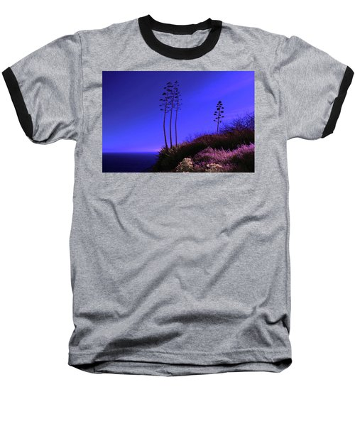 Baseball T-Shirt featuring the photograph Point Fermin In Infrared by Randall Nyhof