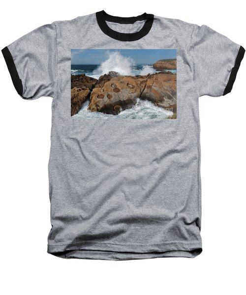 Point Lobos' Concretions Baseball T-Shirt