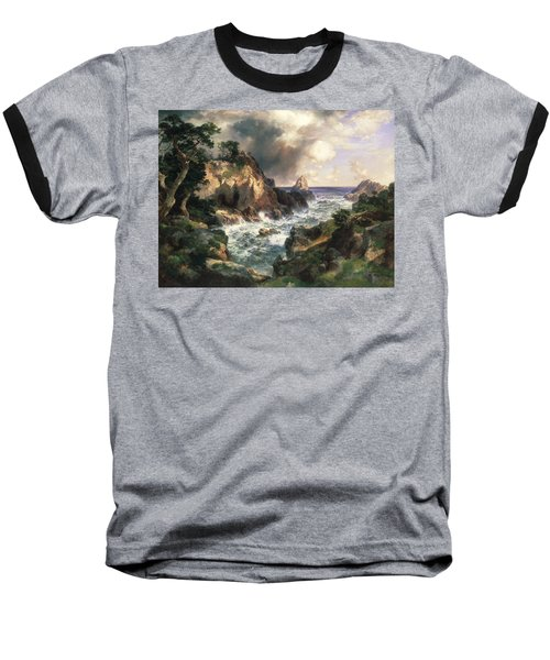 Point Lobos Monterey California Baseball T-Shirt