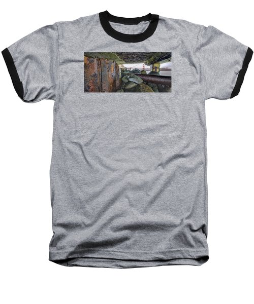 Baseball T-Shirt featuring the photograph Point Of View by Steve Siri