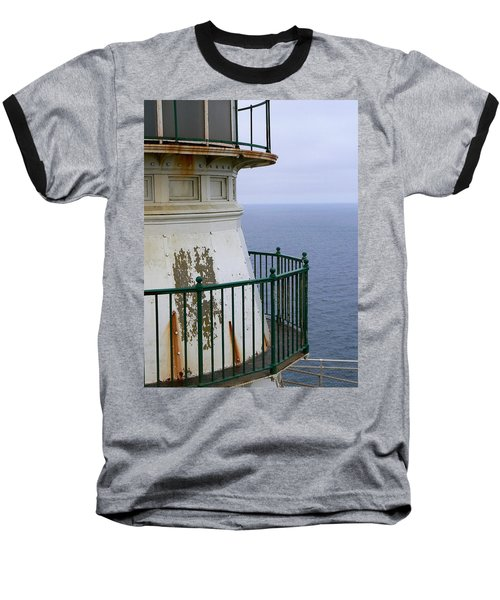 Point Reyes And The Pacific Ocean Baseball T-Shirt by Laurel Powell