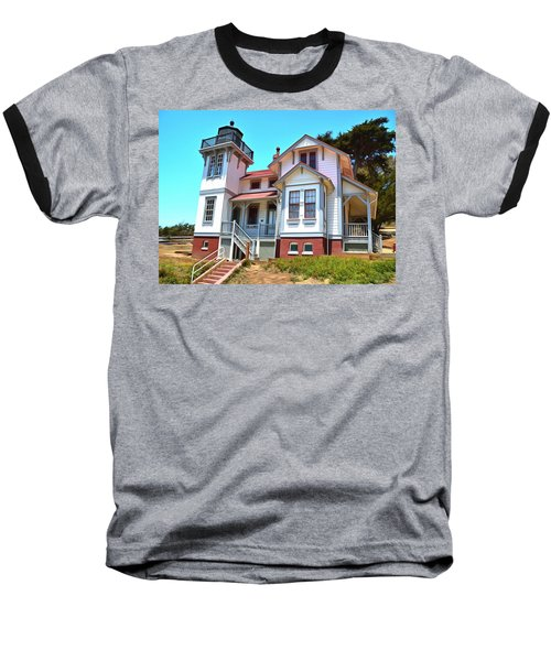 Baseball T-Shirt featuring the photograph Point San Luis Lighthouse by Floyd Snyder
