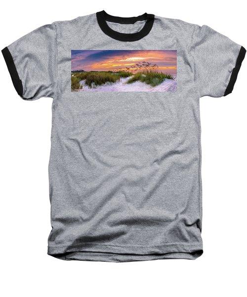 Point Sunrise Baseball T-Shirt