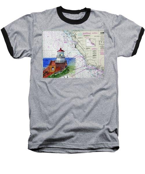 Point Sur Light Station Baseball T-Shirt