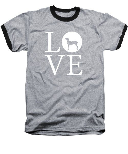 Pointer Love Baseball T-Shirt