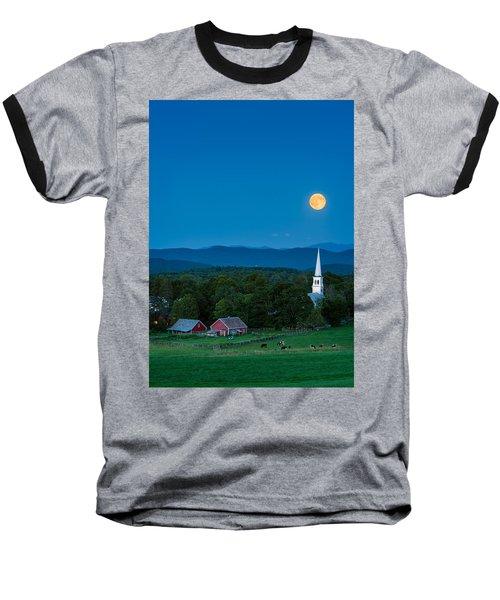 Pointing At The Moon Baseball T-Shirt
