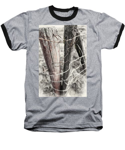 Points And Posts Baseball T-Shirt by Caitlyn  Grasso