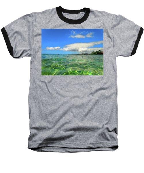 Poipu Beach Baseball T-Shirt