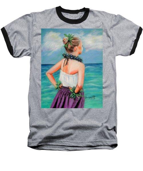 Poipu Hula Baseball T-Shirt