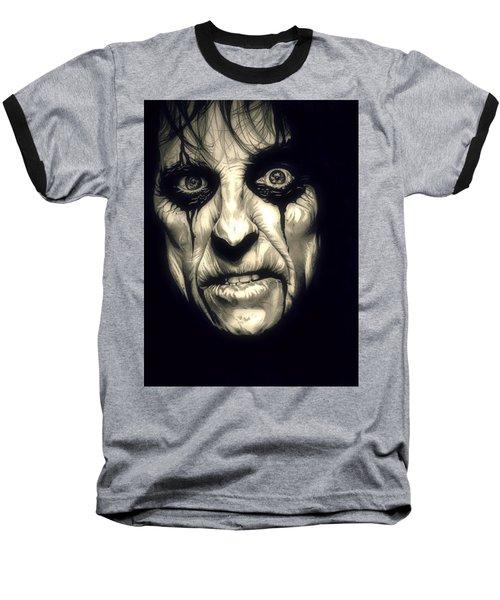 Poison Alice Cooper Baseball T-Shirt