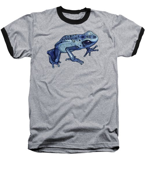 Poison Dart Frog Baseball T-Shirt by ZH Field