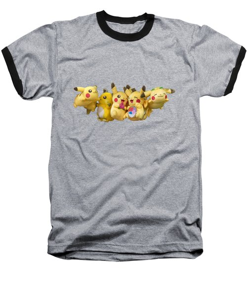 Pokemon Fliers Baseball T-Shirt
