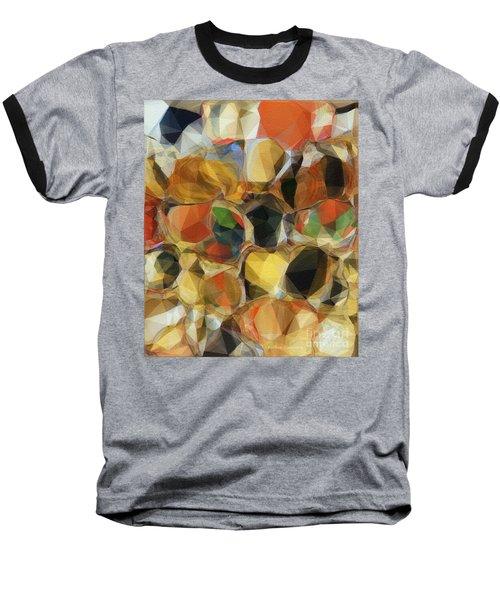 Crazy Quilt Baseball T-Shirt