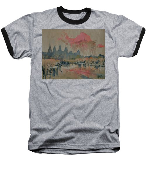 Pokkenweer Museum Square In Amsterdam Baseball T-Shirt