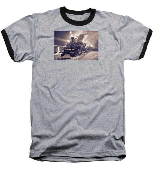Polar Express. Durango, Colorado #2 Baseball T-Shirt by George Robinson