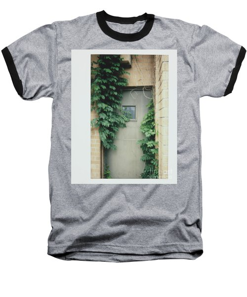 Polaroid Image-ivy In The Doorway Baseball T-Shirt
