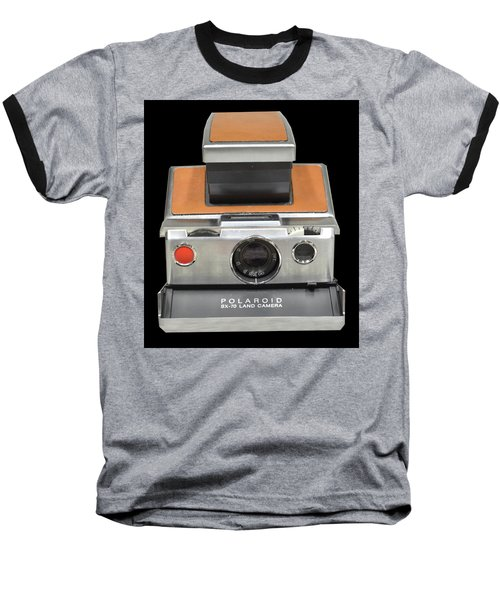 Polaroid Sx-70 Land Camera Baseball T-Shirt