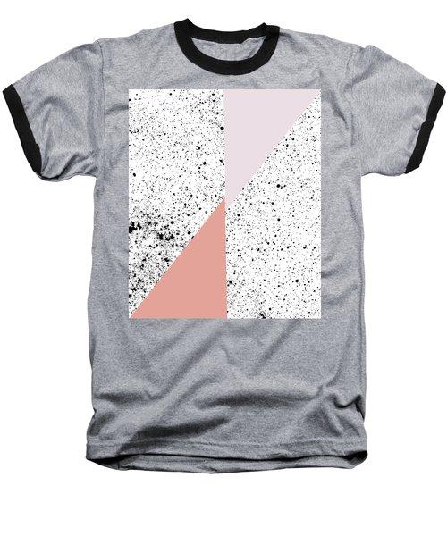 Polka Art Baseball T-Shirt