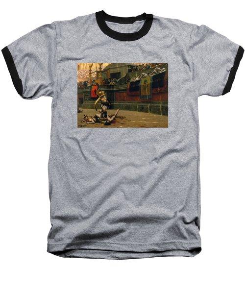 Pollice Verso Baseball T-Shirt