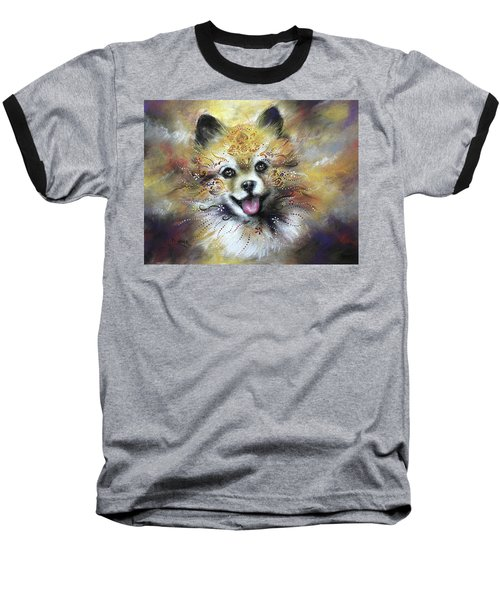 Pomeranian Baseball T-Shirt