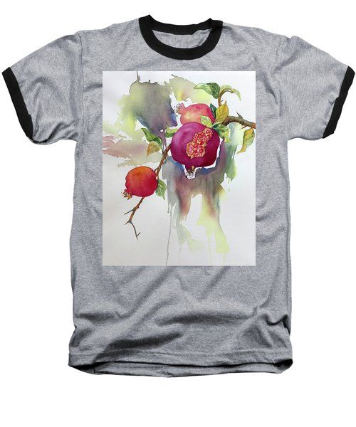Pomegranates Baseball T-Shirt