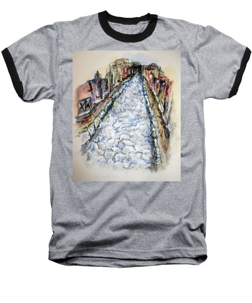 Pompeii Road Baseball T-Shirt