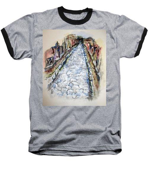Pompeii Road Baseball T-Shirt