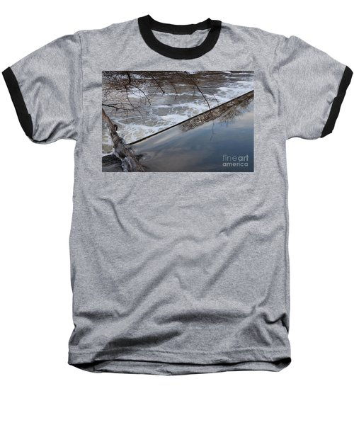 Pompton Spillway From Above Baseball T-Shirt