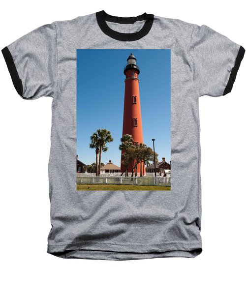 Ponce De Leon Inlet Light Baseball T-Shirt