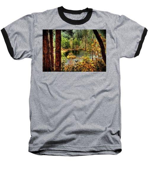 Pond At Golden Or. Baseball T-Shirt