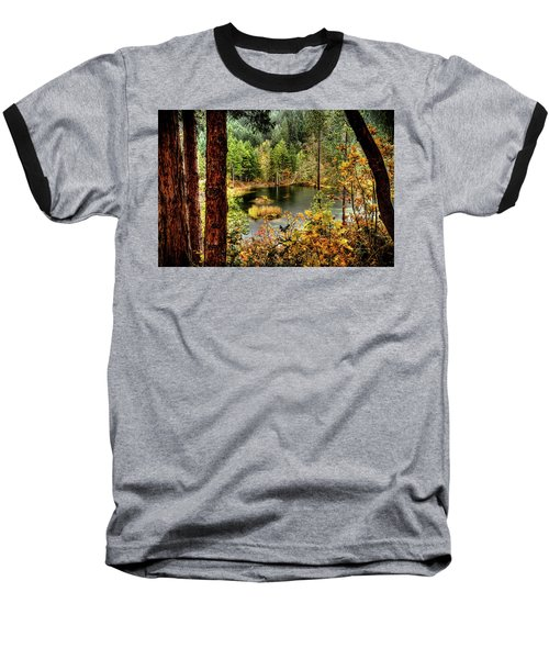 Pond At Golden Or. Baseball T-Shirt