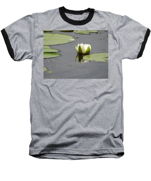 Baseball T-Shirt featuring the photograph Pond Beauty by Betty-Anne McDonald