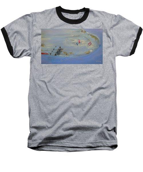 Pond Hockey Baseball T-Shirt