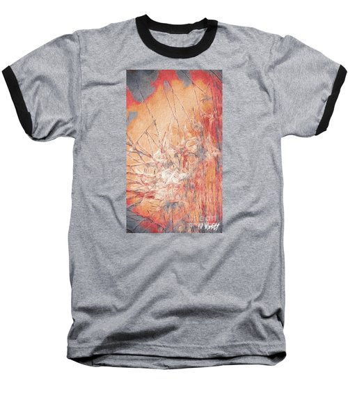 Pond In Fall Baseball T-Shirt by William Wyckoff